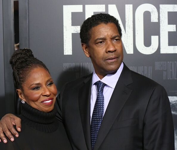 Pauletta and Denzel Washington at the 'Fences' New York screening in 2016 | Source: Getty Images