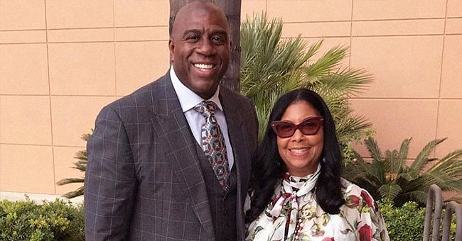Magic Johnson Pays Moving Tribute to His Beautiful Wife Cookie on Valentine's Day