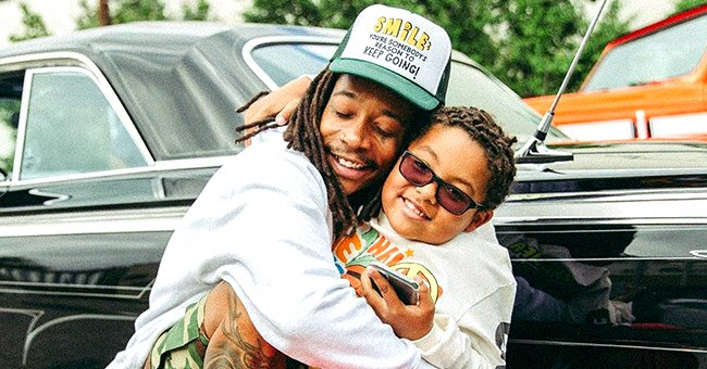 Wiz Khalifa Gets Busy with Daddy Duties and Spends Quality Time with Growing Son Sebastian