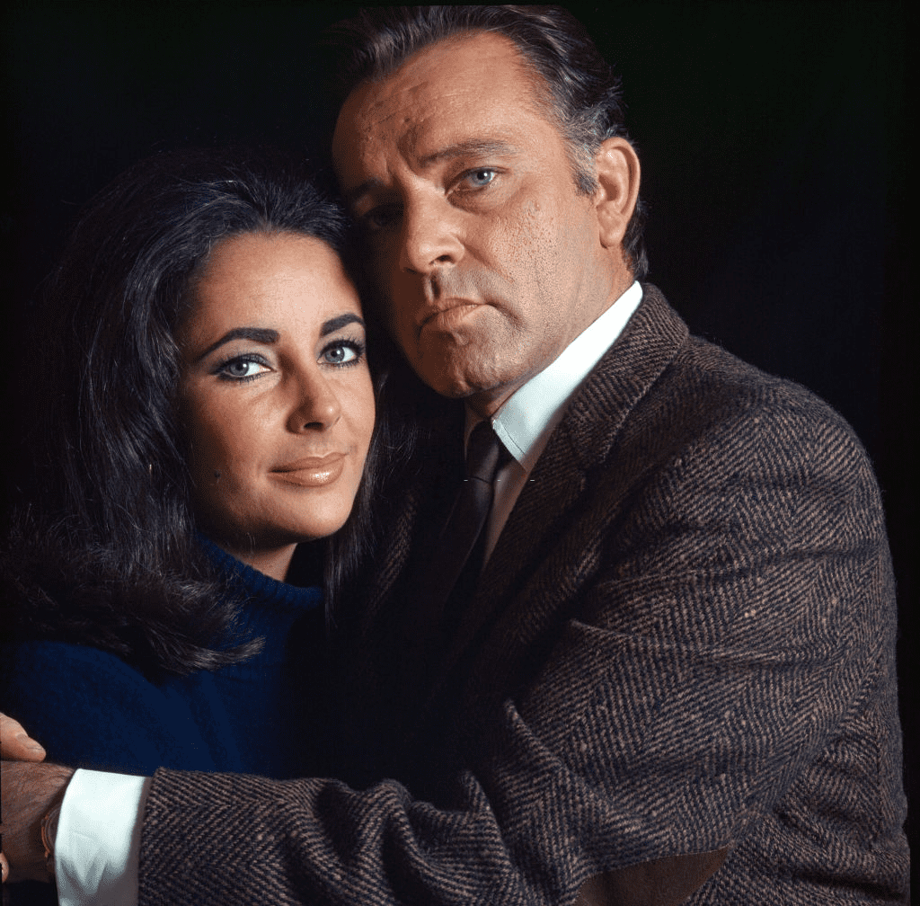 Elizabeth Taylor et Richard Burton. | Photo : Getty Images