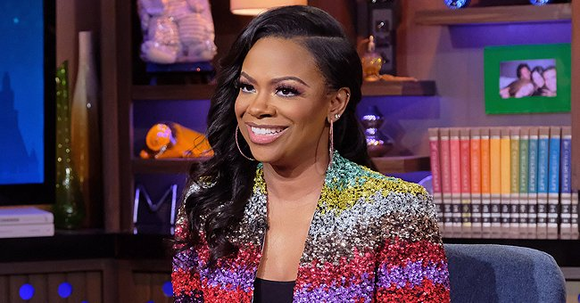 Kandi Burruss' Daughter Blaze Poses for Birthday Snaps in a Fluffy Dress under Falling Confetti