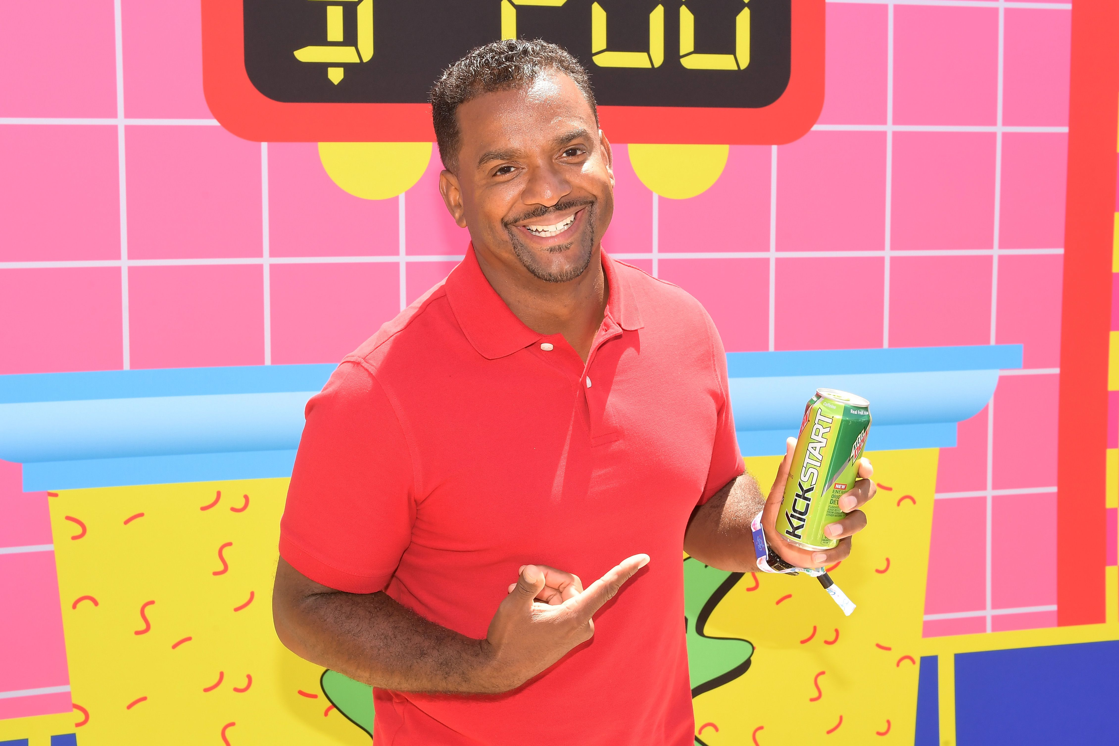 "Alfonso Ribeiro during ""Double Dare"" at Comedy Central presents Clusterfest on June 3, 2018 in San Francisco, California. 