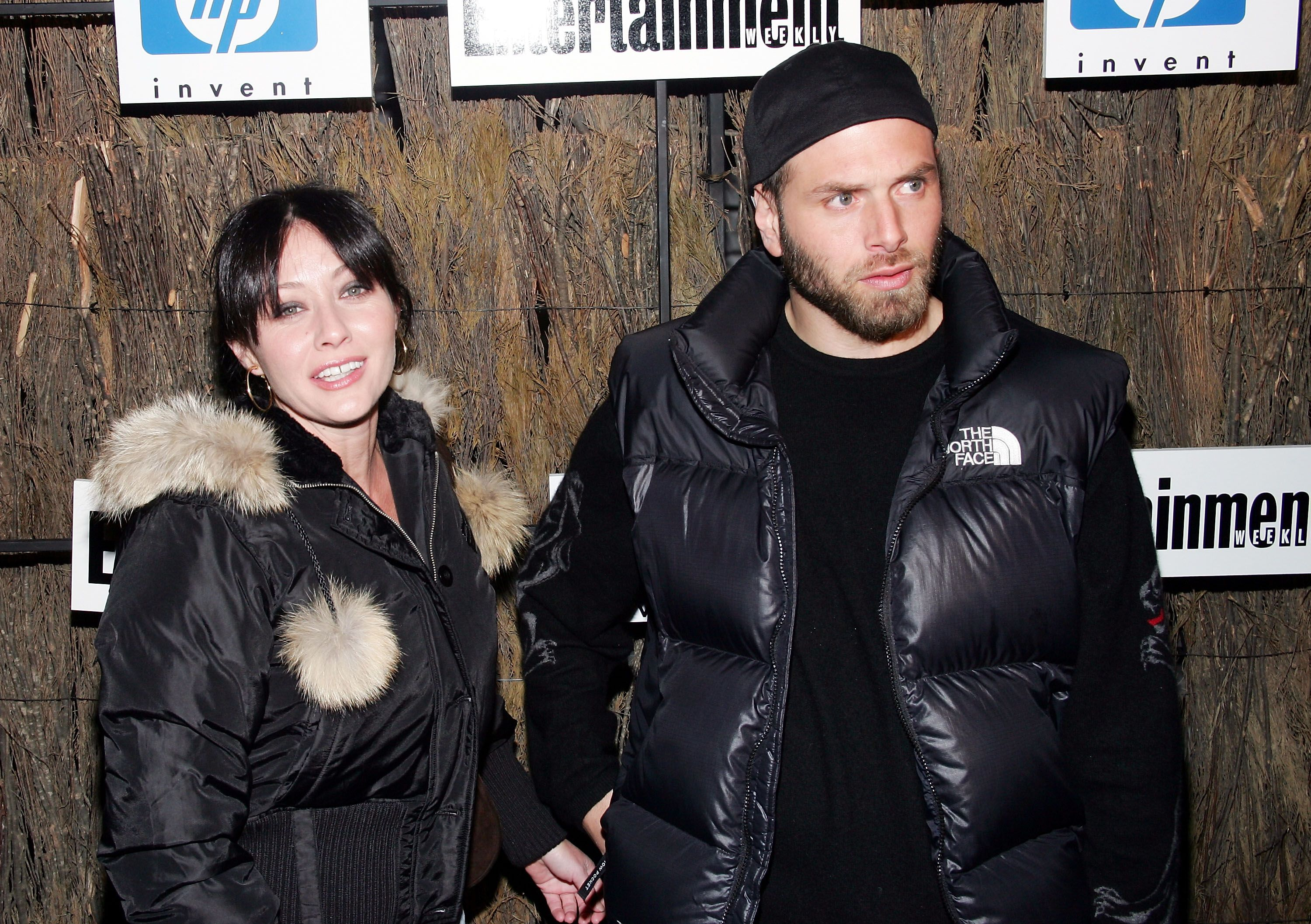 Shannen Doherty and Rick Salomon attend Entertainment Weekly?s Winter Wonderland Sundance Bash. | Source: Getty Images