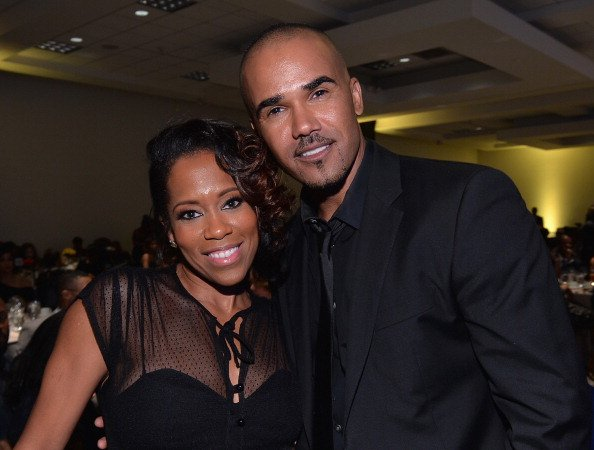 Shemar Moore und Regina King, NAACP Awards, 2014 | Quelle: Getty Images