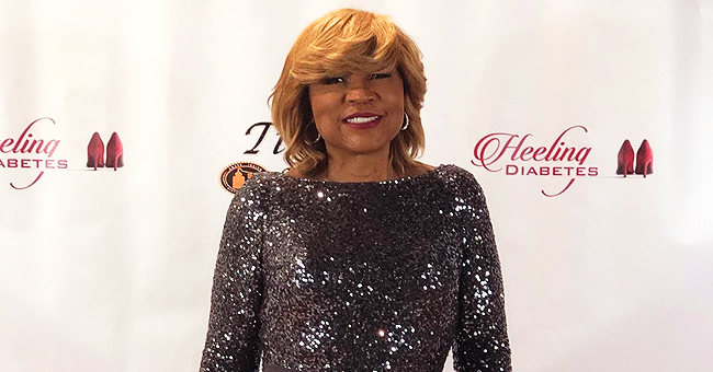 Evelyn Braxton of 'Braxton Family Values' Stunned in Black Sparkly Dress with Slit after Losing Weight