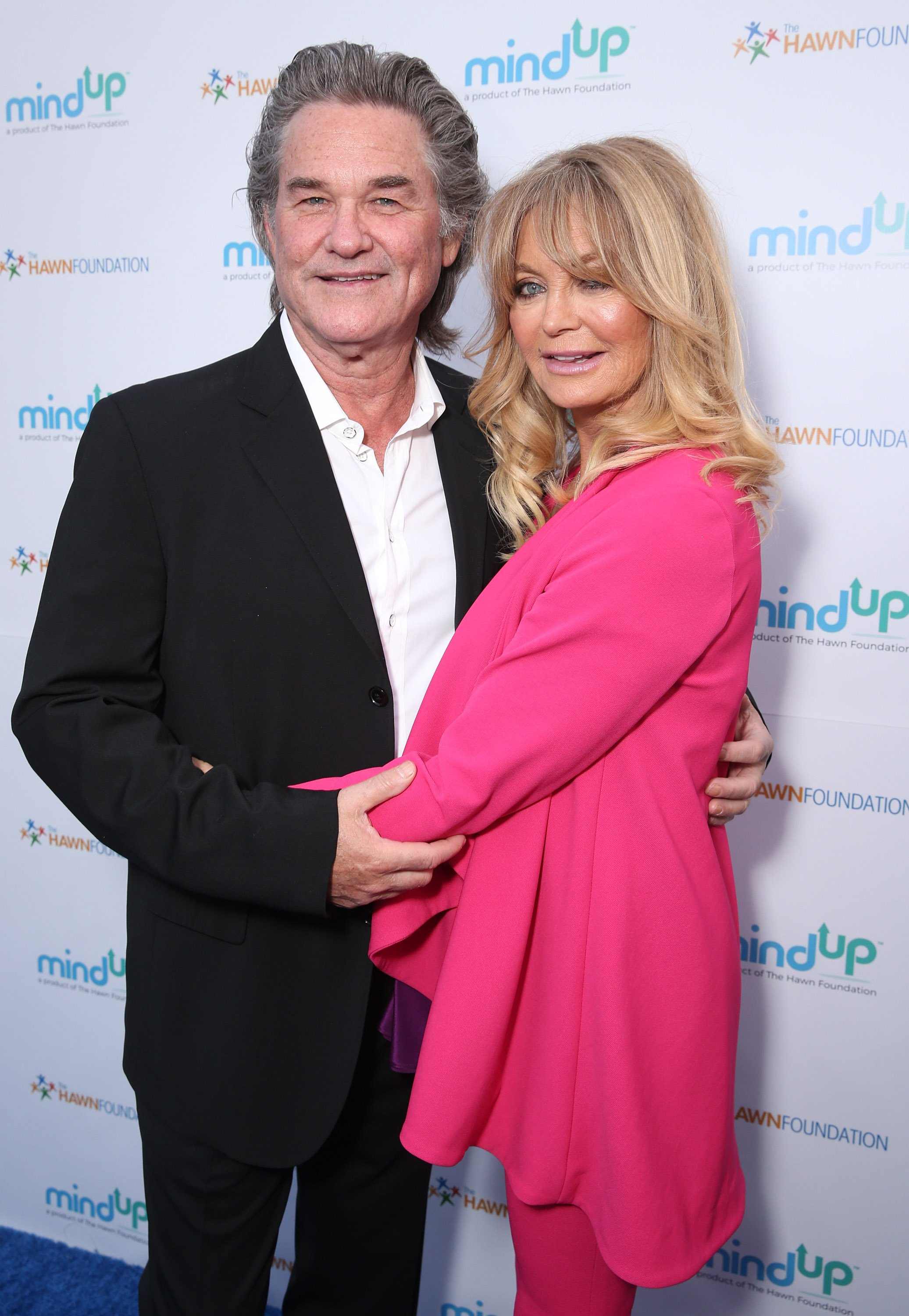 Kurt Russell and Goldie Hawn attend Annual Goldie's Love In For Kids in Beverly Hills, California on May 6, 2016 | Photo: Getty Images