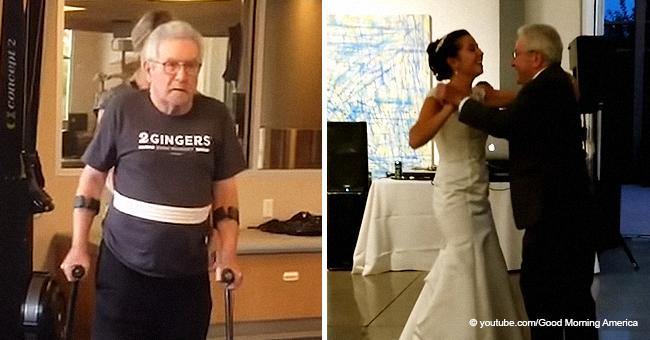 Un père qui était paralysé depuis 5 mois a surpris sa fille en partageant avec elle la première danse lors de son mariage