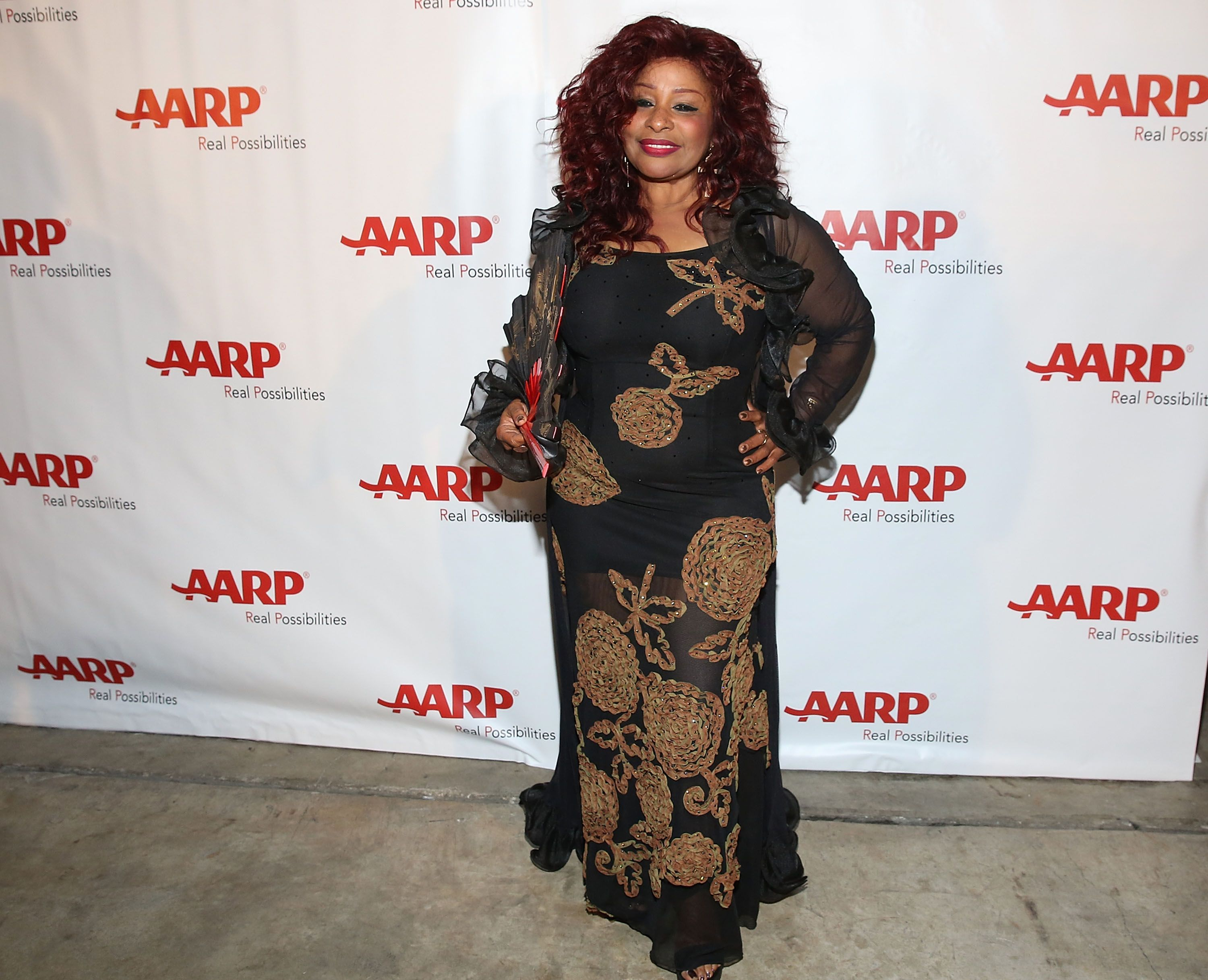Chaka Khan attends the AARP Superstar 2015 finale at AARP Life@50+ Expo at the Miami Beach Convention Center on May 15, 2015. | Photo: Getty Images