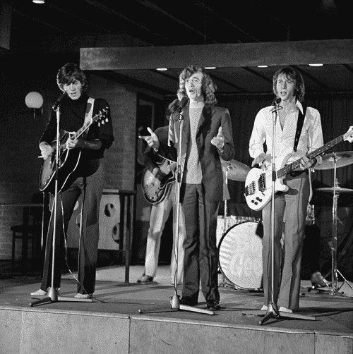 "Bee Gees on the Dutch television show ""Twien"" in 1968 