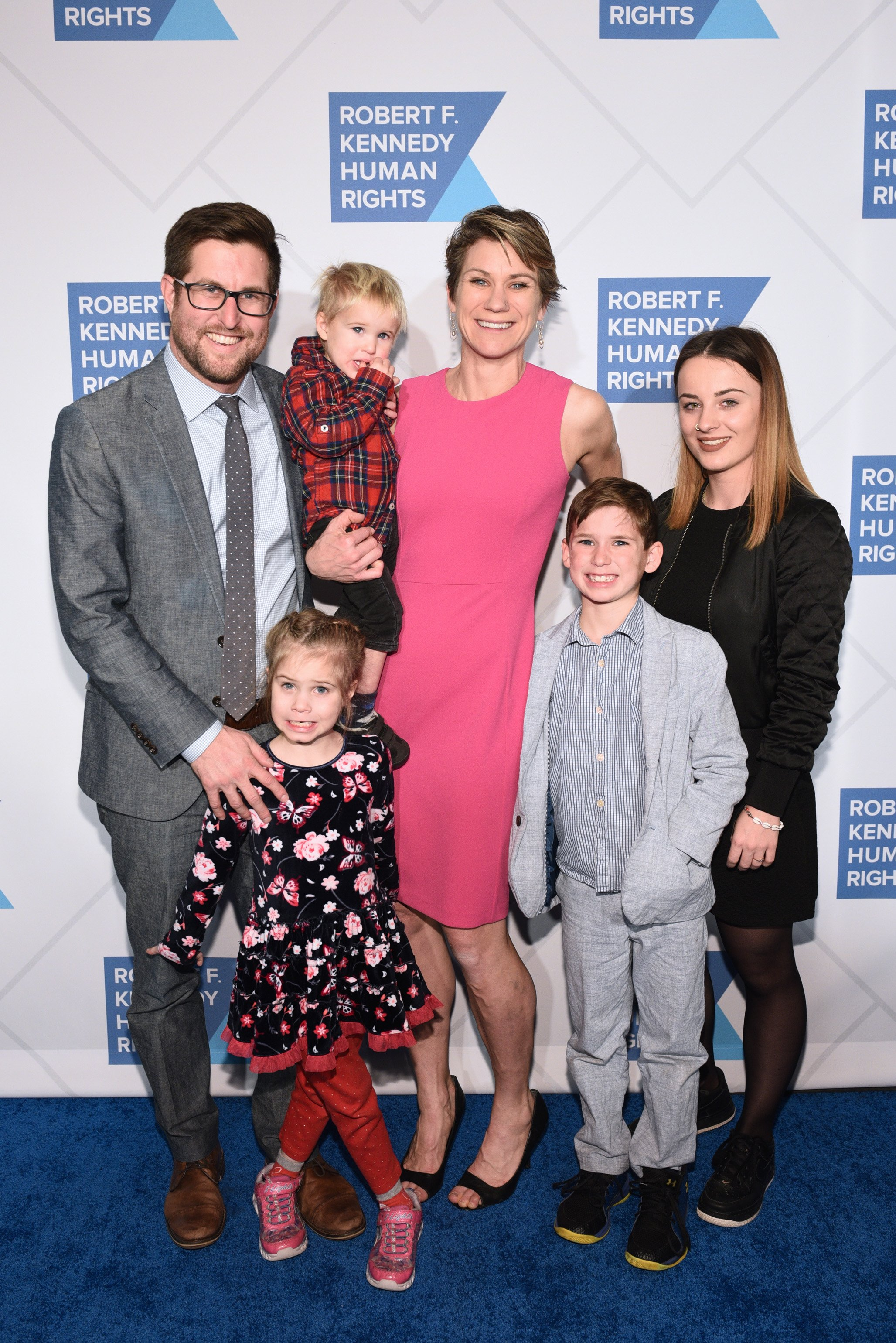David McKean, Maeve Kennedy Townsend Mckean and family attend the Robert F. Kennedy Human Rights Hosts 2019 Ripple Of Hope Gala & Auction on December 12, 2019, in New York City. | Source: Getty Images.