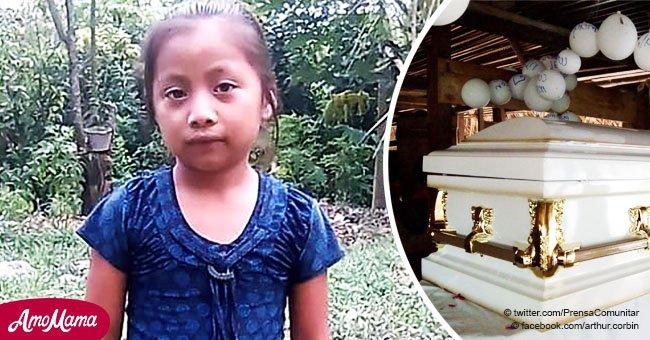 Desgarrador adiós a Jakelin, la niña de 7 años que murió en manos de la Patrulla de Frontera
