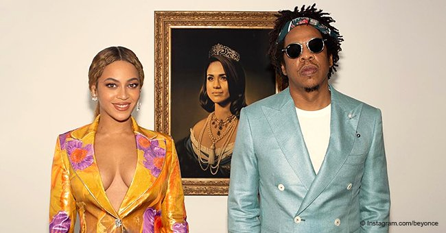 Beyoncé & Jay-Z show respect as they 'bow down' to Meghan Markle in honor of Black History Month