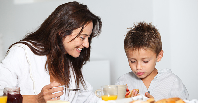 Daily Joke: Mom Is Surprised when Son Tells Her He'll Go Back to Bed Instead of Eating Breakfast