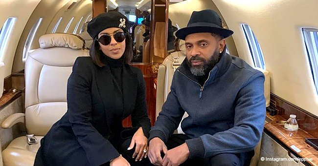 Mike Epps shares rare photo with his 'Queen' who 'looks like Tami Roman' in all-black ensemble