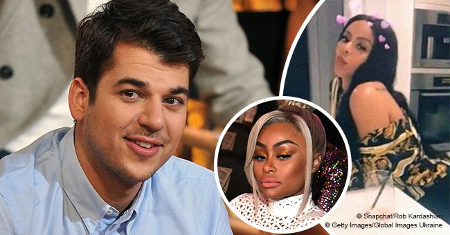 Rob Kardashian has dinner with Alexis Skyy after her alleged fight with Blac Chyna