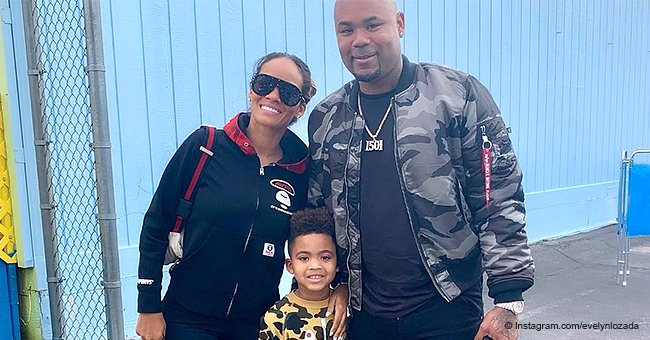Evelyn Lozada & ex Carl Crawford melt hearts after reuniting to celebrate son's achievement in pic
