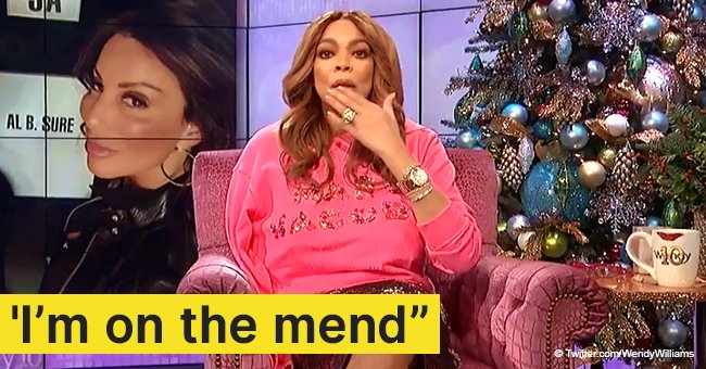 Wendy Williams reveals she fractured her shoulder and returns to her show in a sling