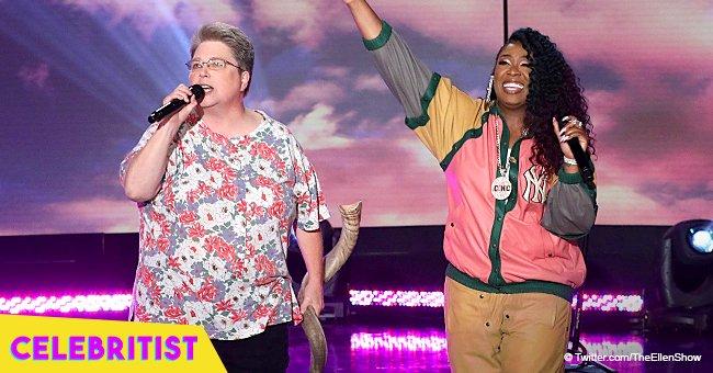 Missy Elliott surprises her 'Funky White Sister' onstage while performing 'Work It'
