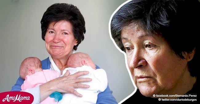 """Mujer que dio a luz a mellizos a los 64 años los pierde por no ser """"una madre apta"""""""