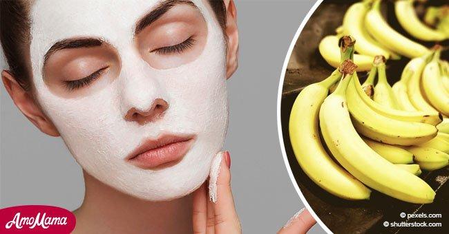 Aquí está cómo una simple mascarilla con banana puede ayudarte a deshacerte de las arrugas