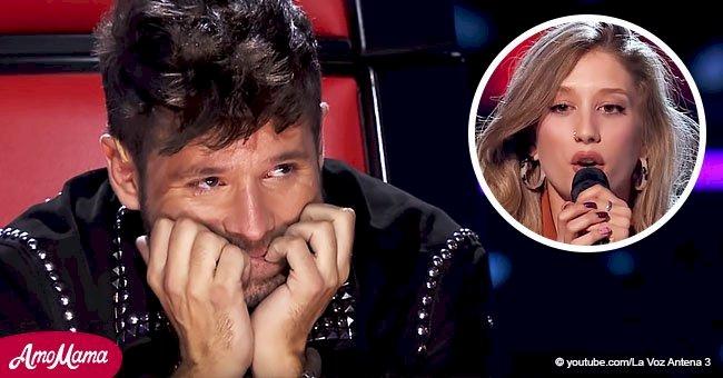 Pablo López comienza a llorar en vivo cuando escucha la voz de uno de los concursantes