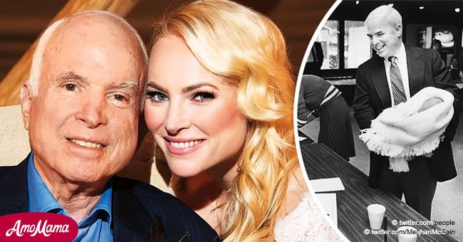 Meghan McCain pays heart wrenching tribute to her late father on election day