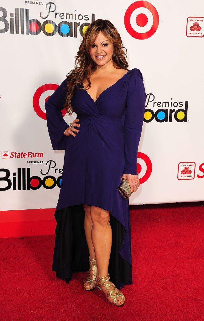 Jenni Rivera en los Premios Billboard de la Música Latina 2009.| Fuente: Getty Images