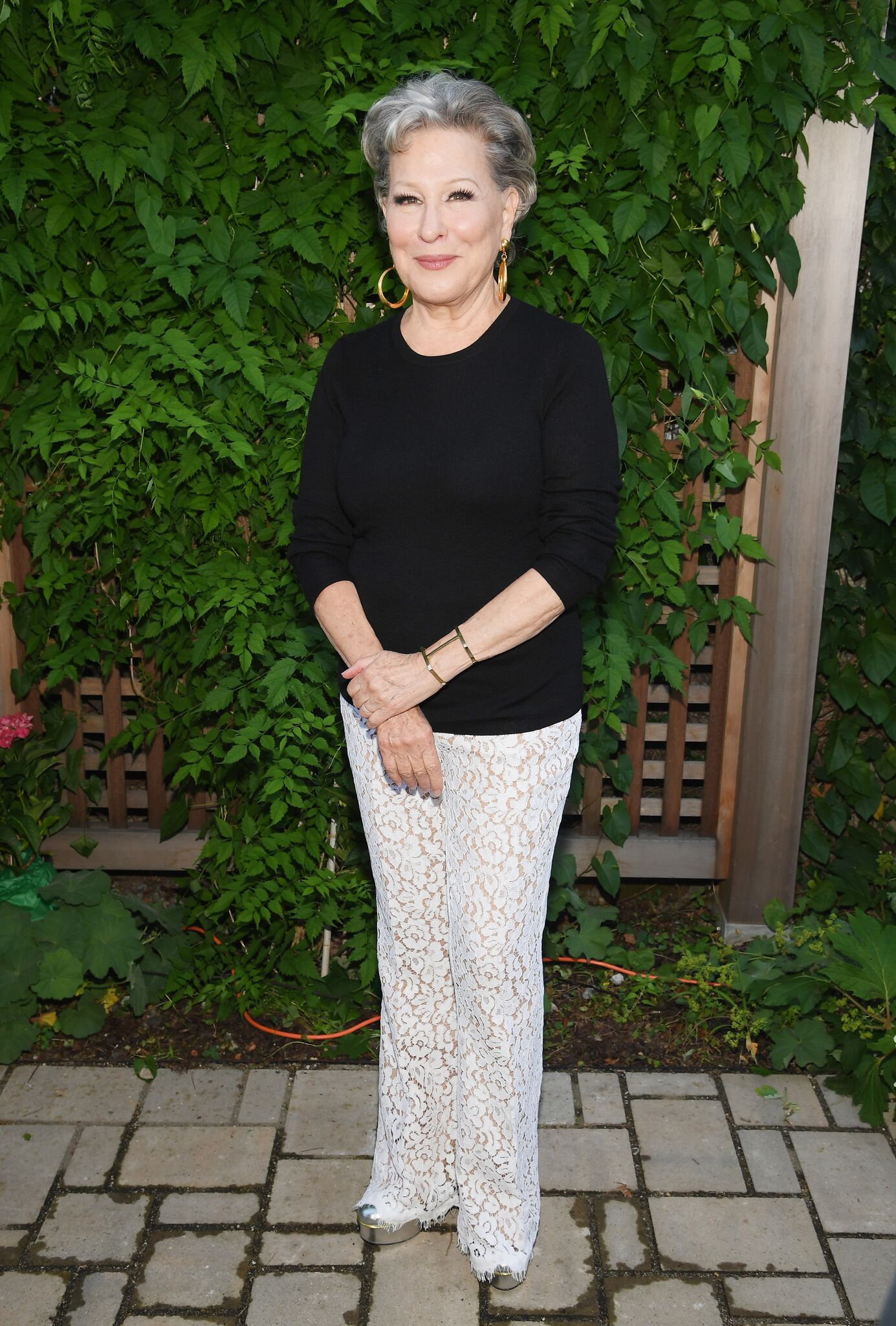 Bette Midler attends as Michael Kors and the New York Restoration Project Celebrate The Opening Of The Essex Street Community Garden | Getty Images