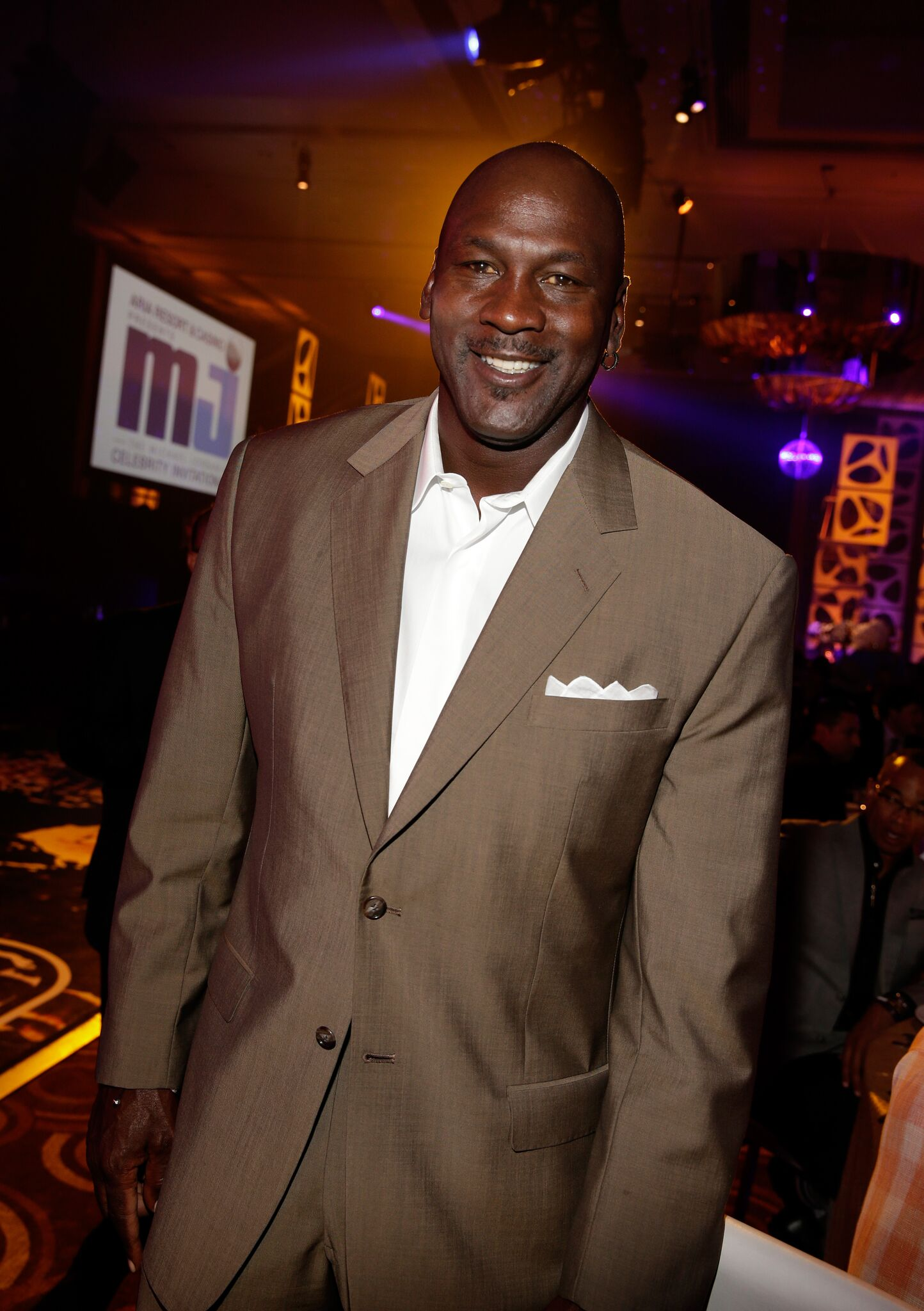 NBA legend and tournament host Michael Jordan attends the 13th annual Michael Jordan Celebrity Invitational gala at the ARIA Resort & Casino at CityCenter on April 4, 2014 | Photo: Getty Images
