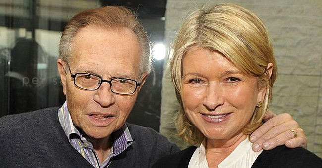 Martha Stewart Remembers Dinner Date with Larry King in a Throwback Video Paying Tribute to Him
