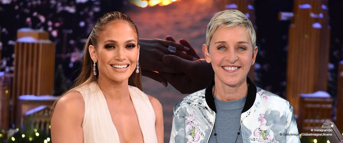 Ellen Degeneres Reacts to Engagement, Says She'll Be Jennifer Lopez's 'Maid of Honor'