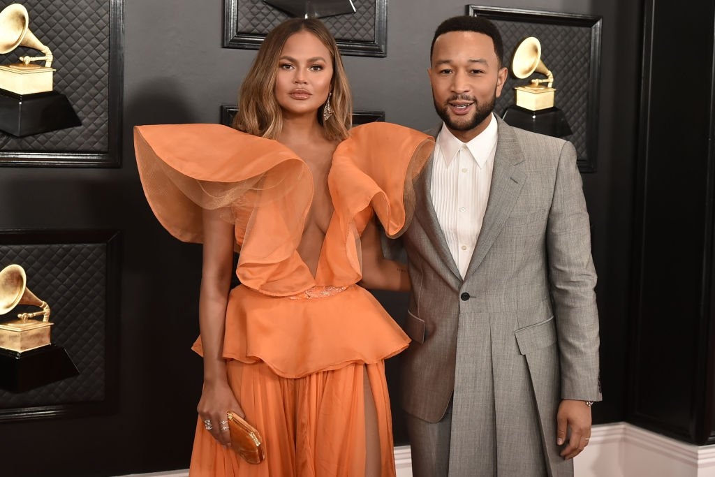 Chrissy Teigen and John Legend attend the 62nd Annual Grammy Awards on January 26, 2020 | Photo: Getty Images
