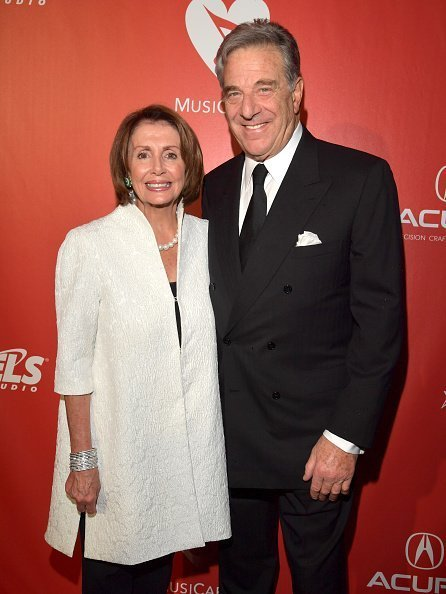 Nancy Pelosi  and Paul Pelosi attend MusiCares Person of the Year in Los Angeles, California. | Photo: Getty Images