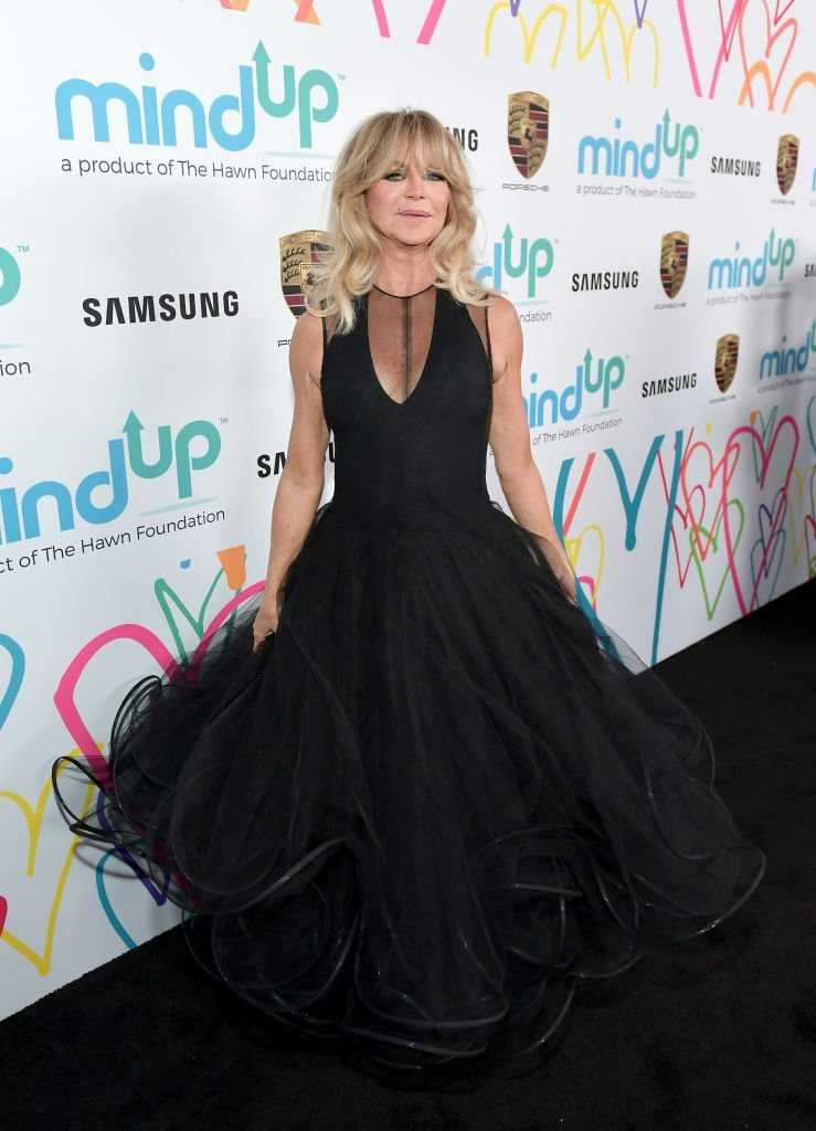 Goldie Hawn attends Goldie's Love In For Kids at Ron Burkle's Green Acres Estate on November 3, 2017, in Beverly Hills, California.  | Source: Getty Images.