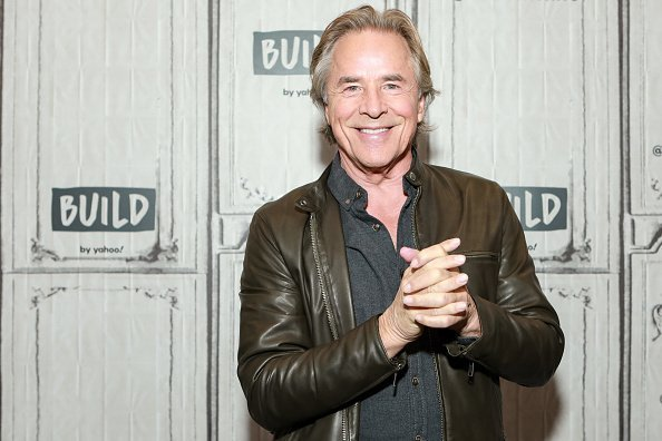 Don Johnson visits Build to discuss the Christmas Spectacular starring The Radio City Rockettes on November 21, 2019 | Photo: Getty Images