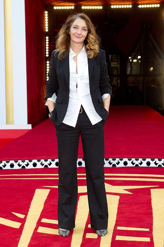 Corinne Masiero le 8 décembre 2011 à Marrakech. l Source : Getty Images