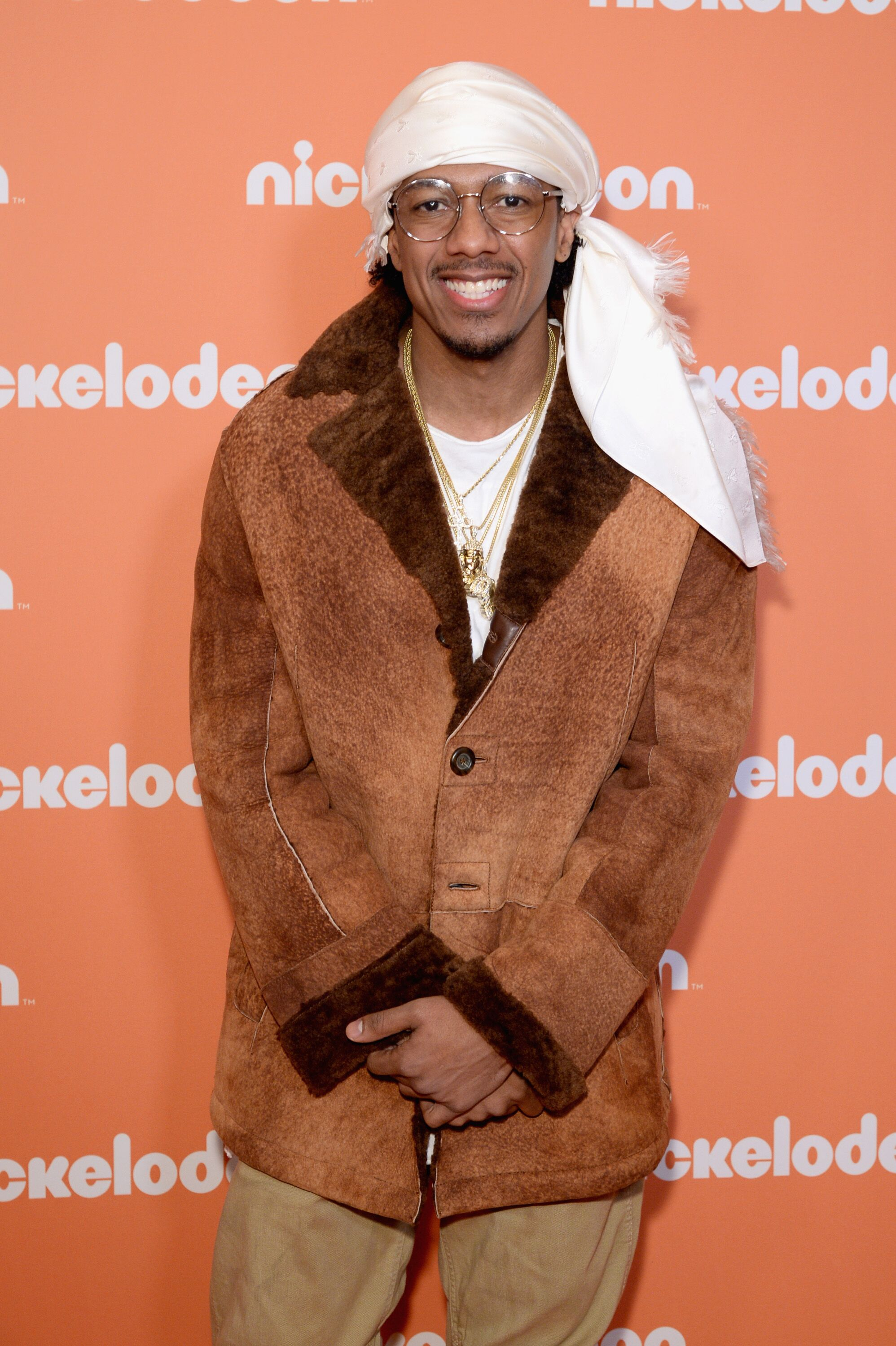 Nick Cannon posing at a Nickelodeon event | Source: Getty Images/GlobalImagesUkraine