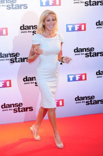 Ophelie Winter participe au'Danse Avec Les Stars 2014'. | Photo : GettyImage