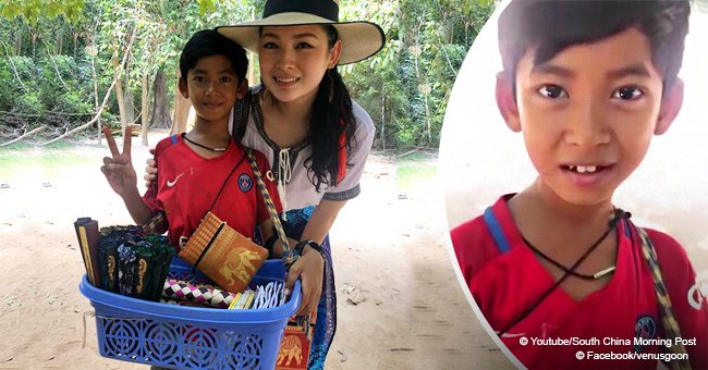 Child street vendor became internet sensation last year for speaking almost a dozen languages