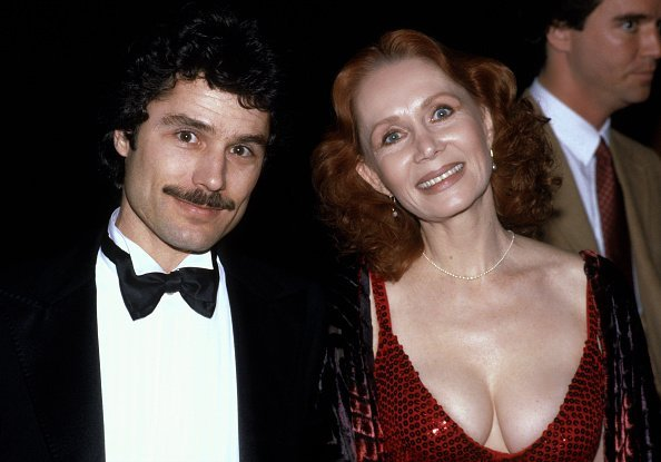 Katherine Helmond and husband David Christian circa 1981 in Los Angeles, California. | Photo:  Getty Images