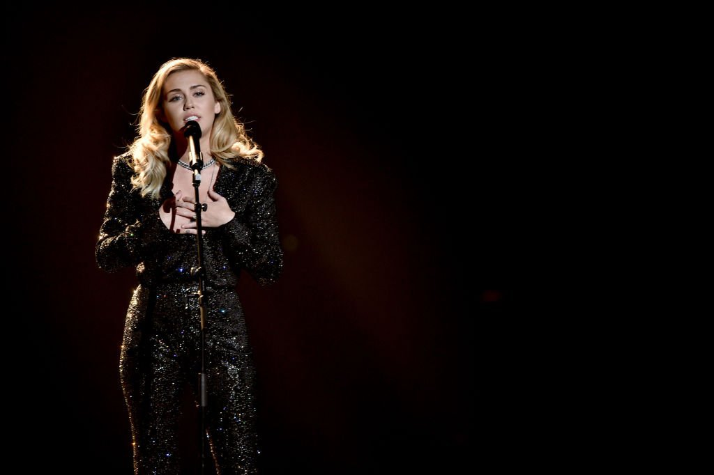Miley Cyrus performs onstage during MusiCares Person of the Year honoring Fleetwood Mac | Source: Getty Images