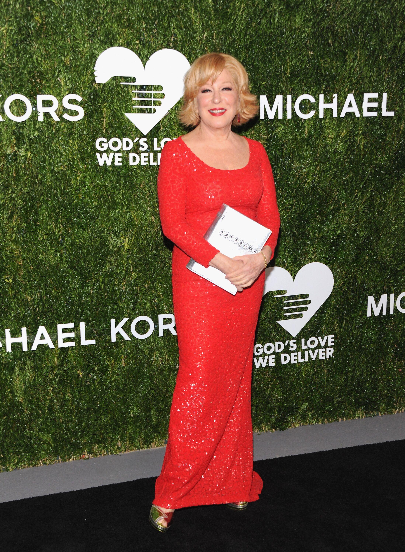 Bette Midler attends God's Love We Deliver 12th Annual Golden Heart Awards | Getty Images  / Global Images Ukraine