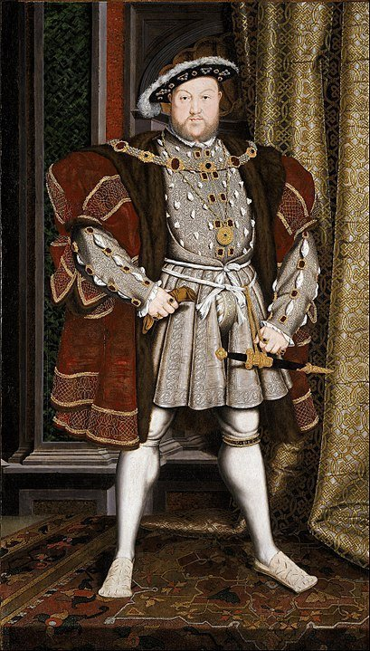 Portrait of Henry VIII. | Source: Wikipedia.