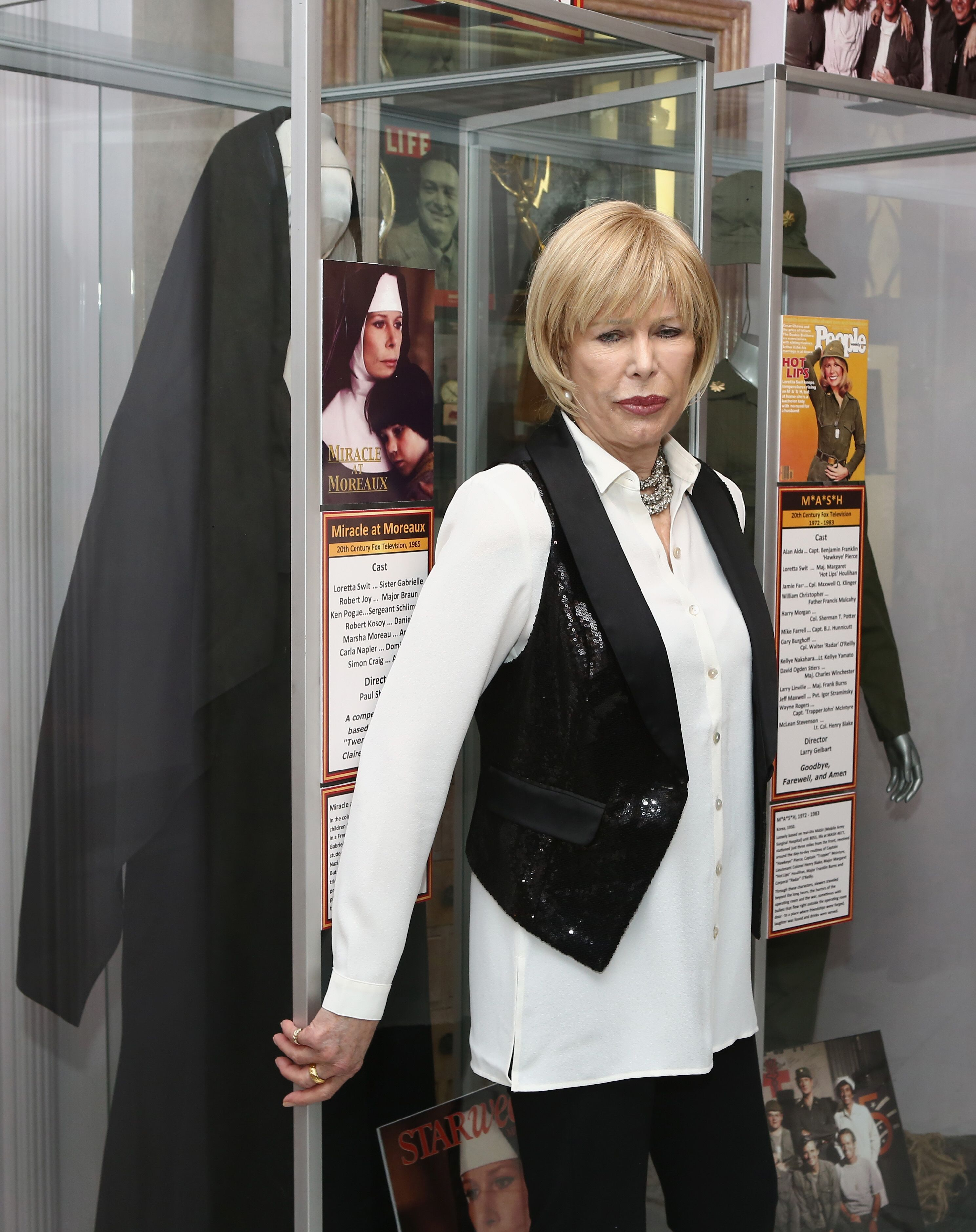 """Loretta Swit at The Hollywood Museum Hosts Exhibit Unveiling and Book Launch with Loretta Swit for """"Switheart"""" at The Hollywood Museum in Hollywood, California 