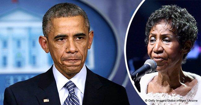 Barack Obama breaks his silence over Aretha Franklin's death