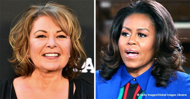 Roseanne Barr Claims Michelle Obama Got Her Fired for a Racist Tweet