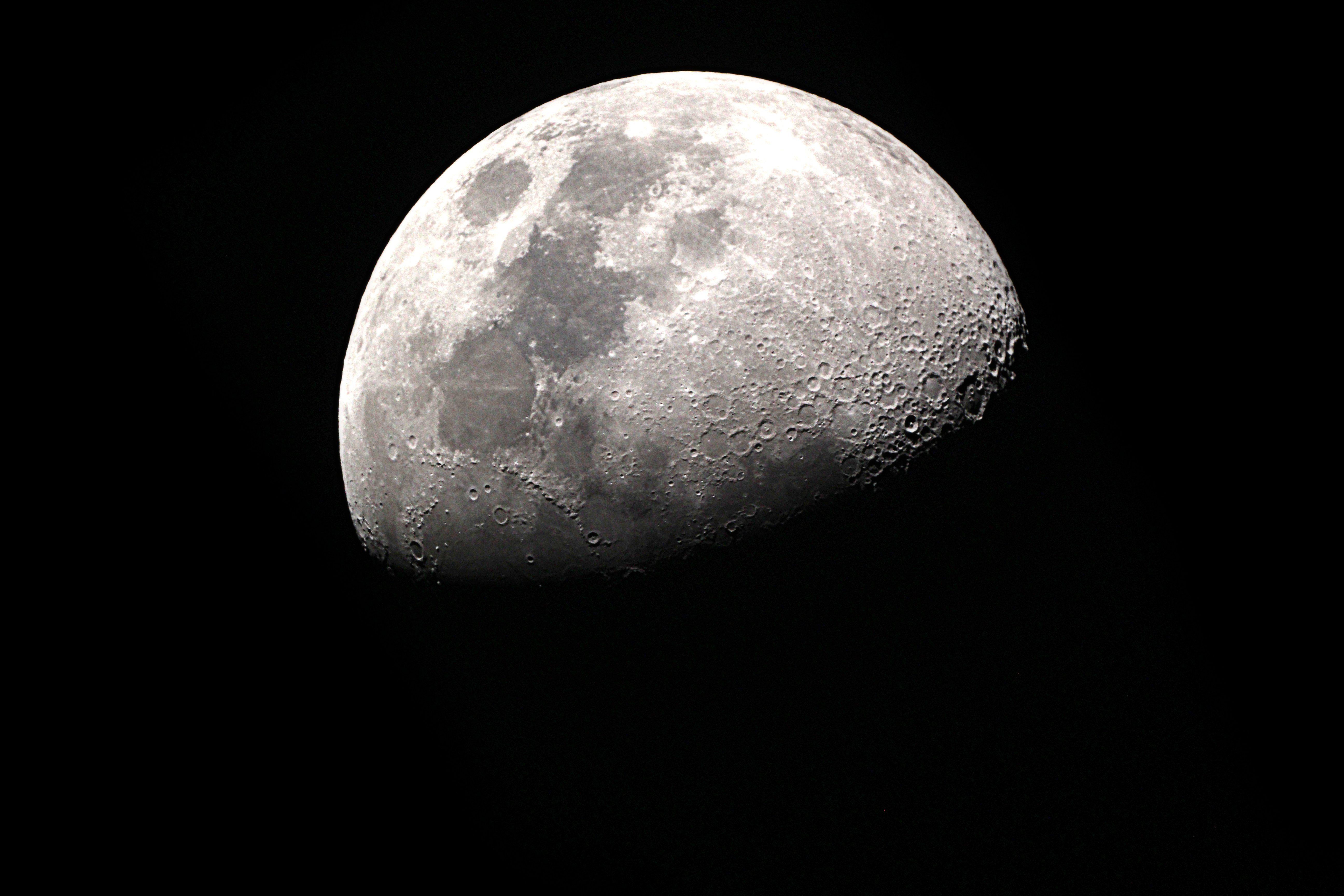 A photograph of the moon in space | Source: Shutterstock