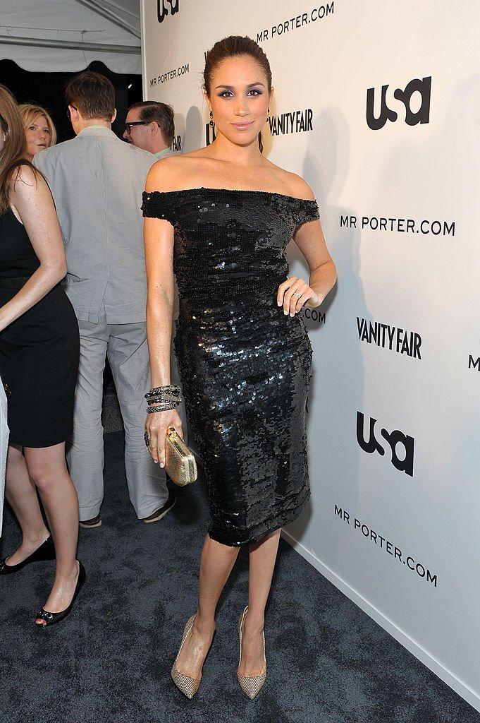 Meghan Markle en 2012 lorsqu'elle était encore actrice. l Source : Getty Images