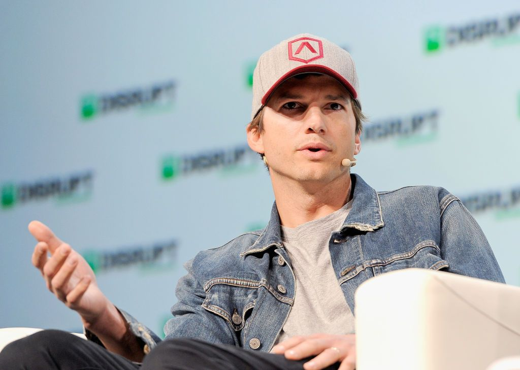Sound Ventures Founder Ashton Kutcher speaks onstage at Day 1 of TechCrunch Disrupt SF 2018 at Moscone Center on September 5, 2018 | Photo: Getty Images