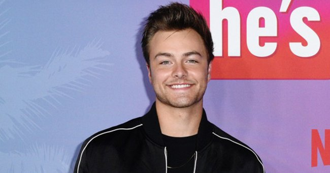 Peyton Meyer on August 25, 2021 in Hollywood, California | Photo: Getty Images
